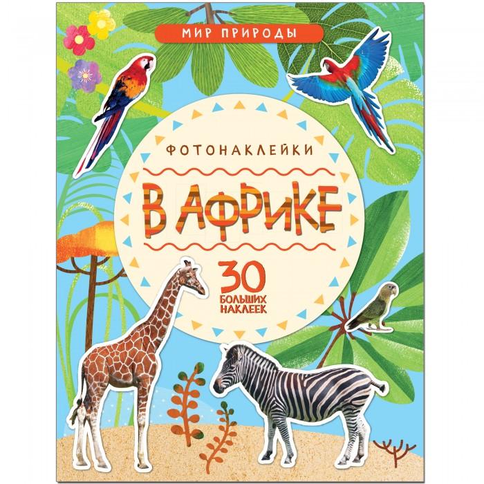 Книжки с наклейками Мозаика-Синтез Мир природы. Фотонаклейки. В Африке книжки с наклейками мозаика синтез книжка с многоразовыми наклейками лесная школа жираф и его шарф