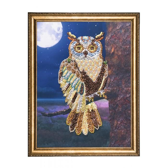 Картины своими руками Волшебная мастерская Мозаика на холсте Сова