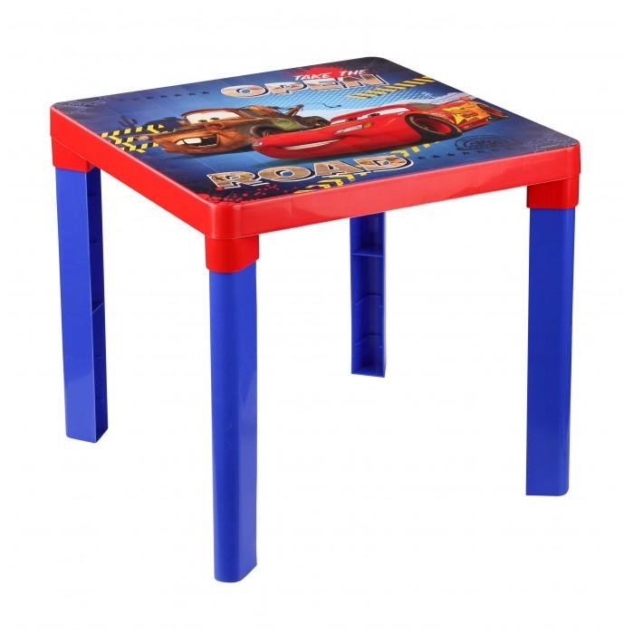 Пластиковая мебель Disney Стол детский Тачки
