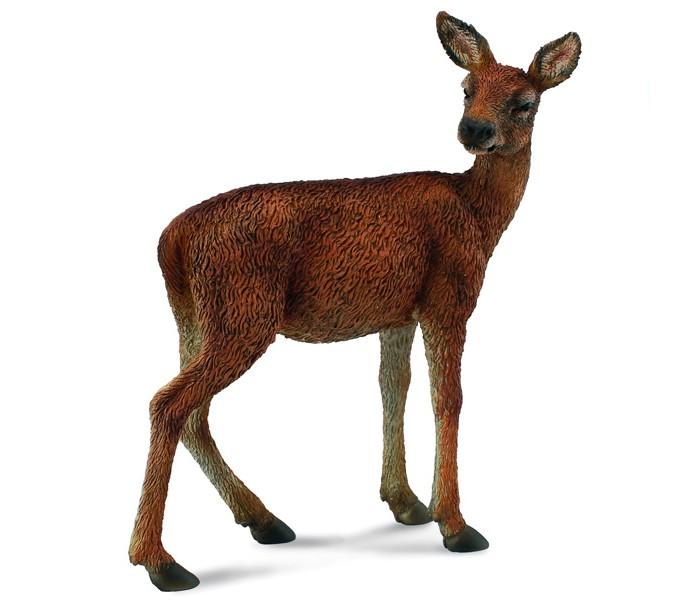декоративная голова оленя paul Игровые фигурки Gulliver Collecta Фигурка Самка оленя 7 см