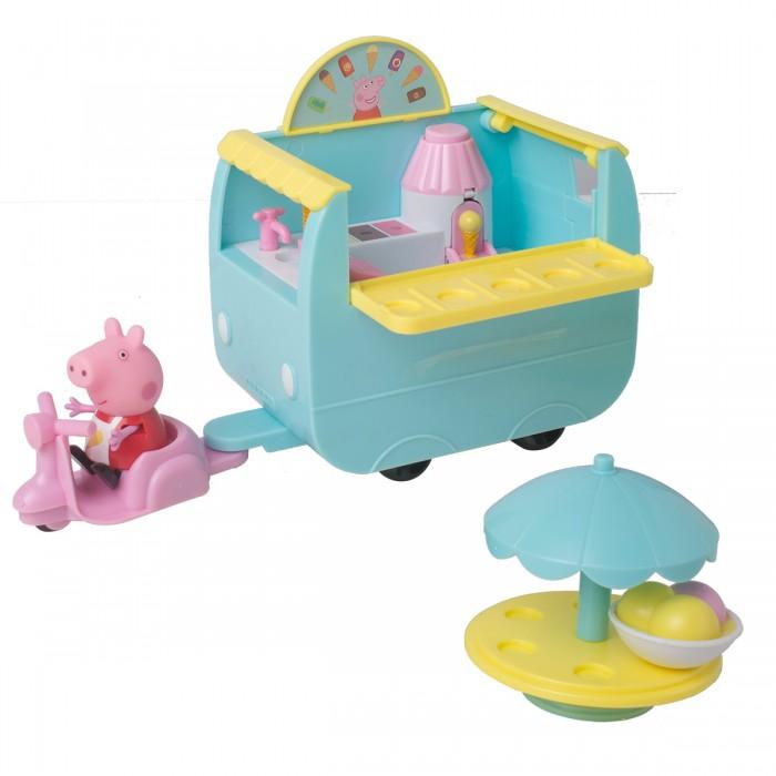 Игровые наборы Свинка Пеппа (Peppa Pig) Игровой набор Палатка с мороженым игровой набор peppa pig пеппа в автомобиле