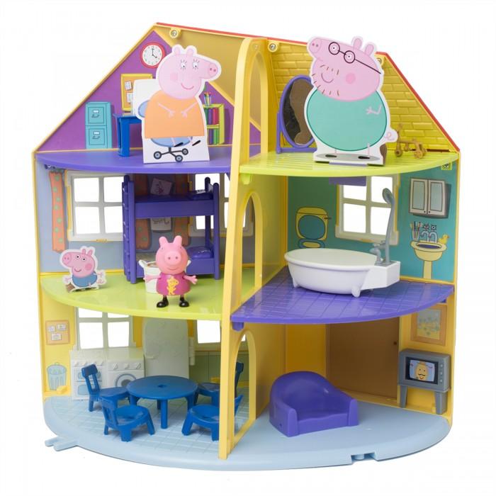 Игровые наборы Свинка Пеппа (Peppa Pig) Игровой набор Трехэтажный дом Пеппы игровой набор peppa pig семья пеппы папа свин и джорж 2 предмета от 3 лет 20837