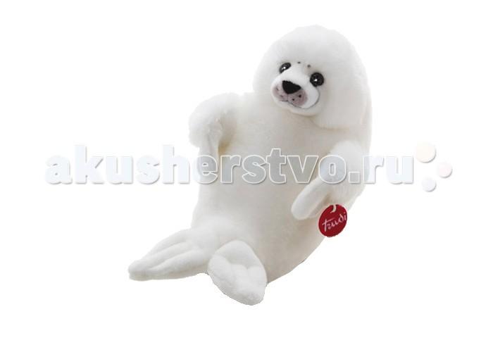 Мягкие игрушки Trudi Белый Тюлень 46 см книги издательство аст большая энциклопедия транспорт