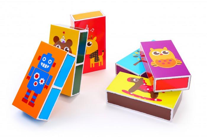 Развивающие игрушки Ifam Игровые детские кубики из бумаги 54 шт.