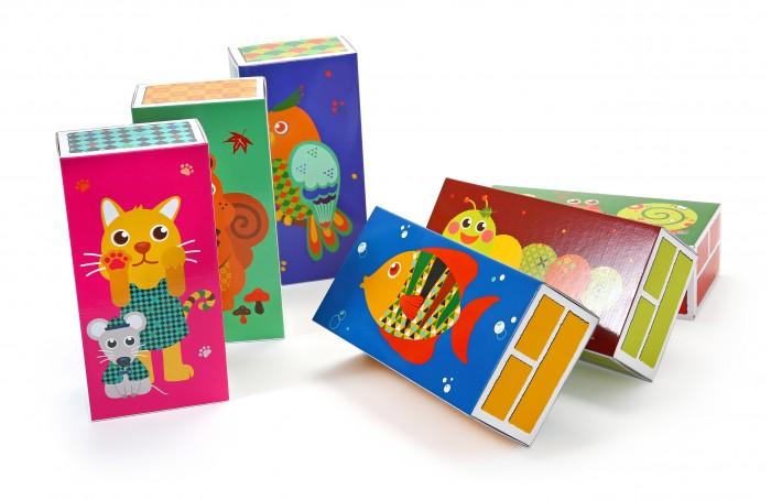 Развивающие игрушки Ifam Большие игровые детские кубики из бумаги 30 шт.