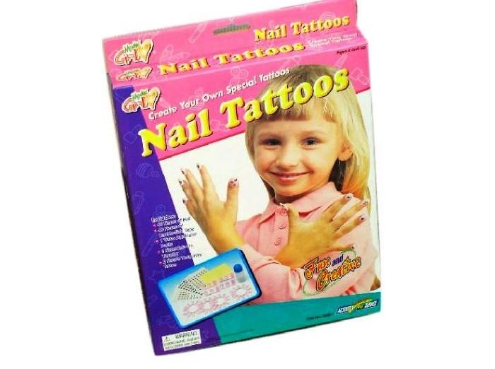 Наборы для творчества Galey Татуировки для ногтей 80883