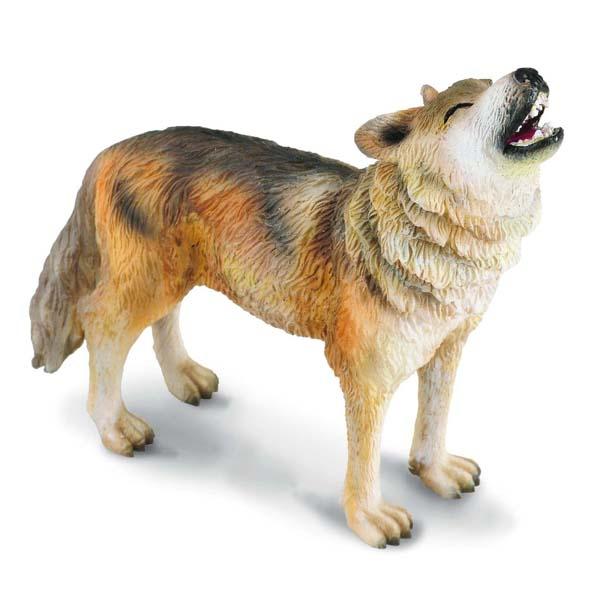 Игровые фигурки Collecta Фигурка Волк воющий 8 см