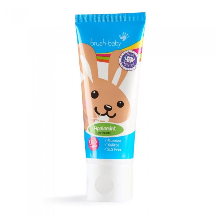 Гигиена полости рта Brush-Baby Детская зубная паста яблоко/мята 50 мл ароматизатор воздуха chupa chups яблоко на дефлектор мембранный 5 мл