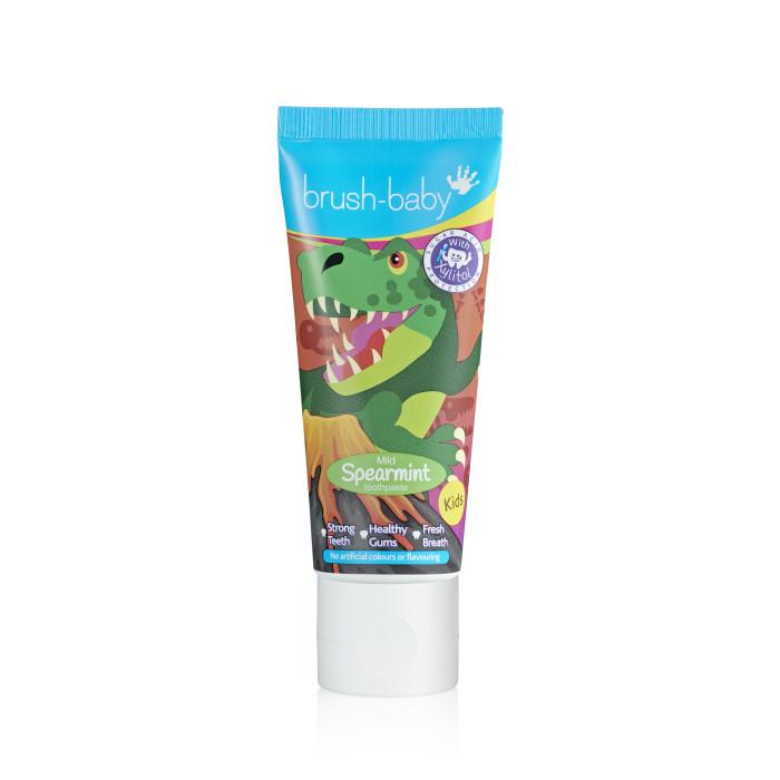 Гигиена полости рта Brush-Baby Детская зубная паста мята 50 мл гигиена полости рта brush baby детская зубная щётка от 3 6 лет