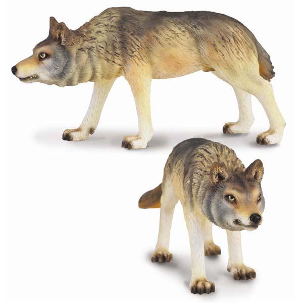 Игровые фигурки Gulliver Collecta Фигурка Волк охотящийся 9 см collecta дилофозавр синий l 12 9 см
