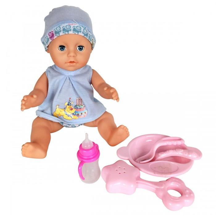 Куклы и одежда для кукол Lisa Jane Пупс 25 см 59460 куклы карапуз пупс карапуз 20см 3 функции пьет писает закрывает глазки в ванне с аксессуарами