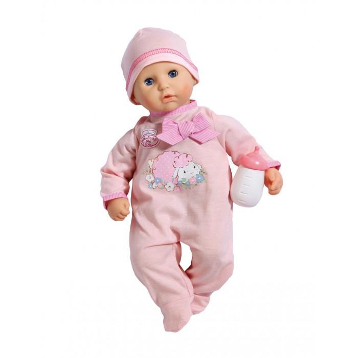 Куклы и одежда для кукол Zapf Creation Кукла Baby Annabell с бутылочкой нтм кукла пупс с бутылочкой и соской