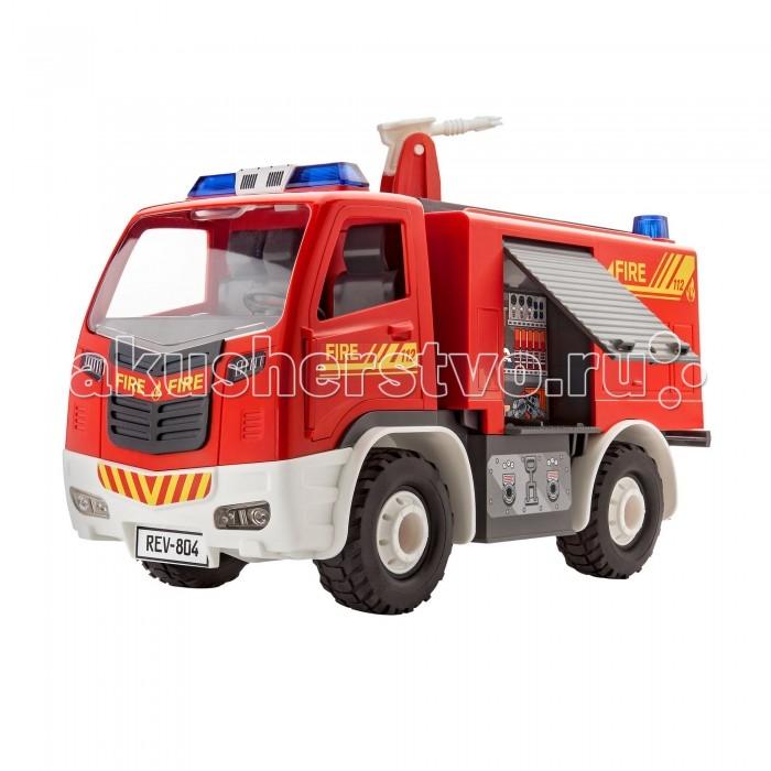 Конструкторы Revell Сборная модель для малышей Пожарная машина конструкторы eastcolight сборная модель science time скелет трицератопса 14 элементов