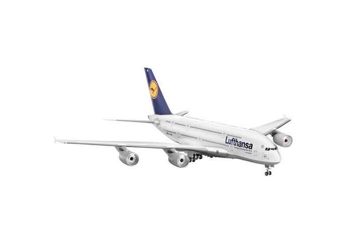Конструкторы Revell Сборная модель Аэробус A380 Lufthansa конструкторы eastcolight сборная модель science time скелет трицератопса 14 элементов
