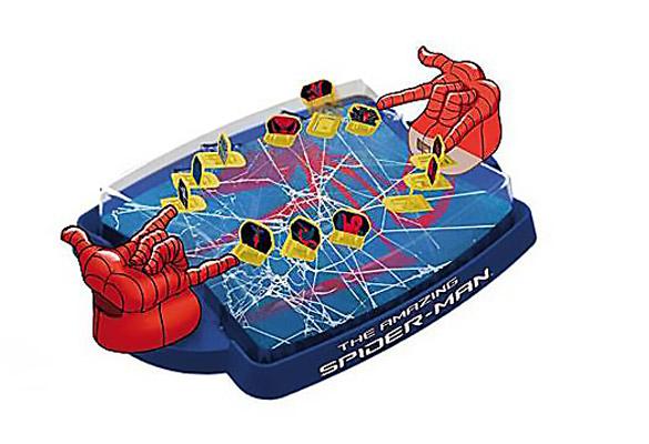 IMC toys Marvel Игра Кто самый ловкий с 2мя джойстиками и пульками Spider-Man