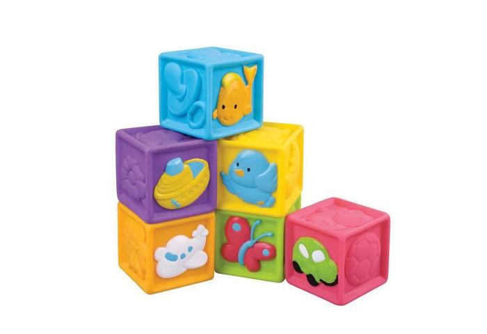 Развивающие игрушки Red Box Мягкие Кубики 6 шт. игрушки для ванны red box набор заводные водяные игрушки 3 шт