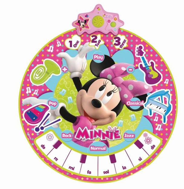 Игровой коврик IMC toys Коврик Minnie музыкальный