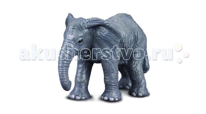 Игровые фигурки Gulliver Collecta Фигурка Африканский слоненок 6 см collecta африканский лев l 13 5 см