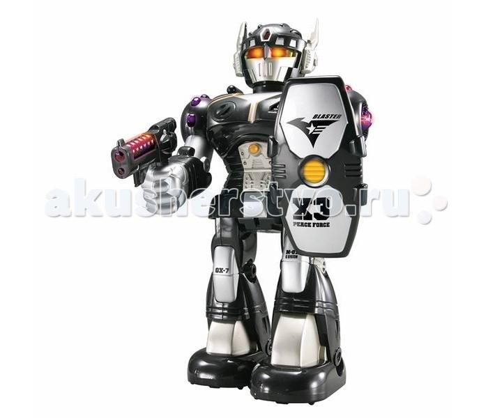 Роботы Hap-p-Kid Робот-воин (черный) 26 см игровая фигурка hap p kid пингвиненок на катере