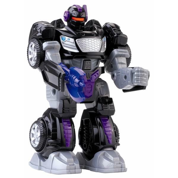 Роботы Hap-p-Kid Робот-трансформер черный 17.5 см фигурки игрушки hap p kid пингвиненок на катере