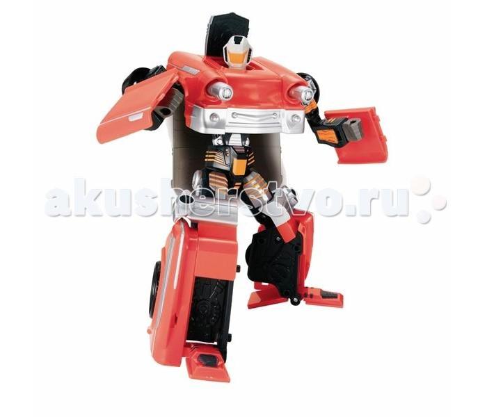 Hap-p-Kid Робот-трансформер Ретро красный