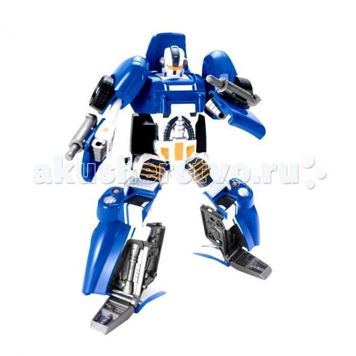 Hap-p-Kid Робот-трансформер Ретро синий