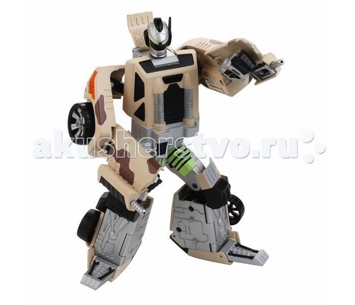 Роботы Hap-p-Kid Робот-трансформер Спорт 4115T фигурки игрушки hap p kid пингвиненок на катере