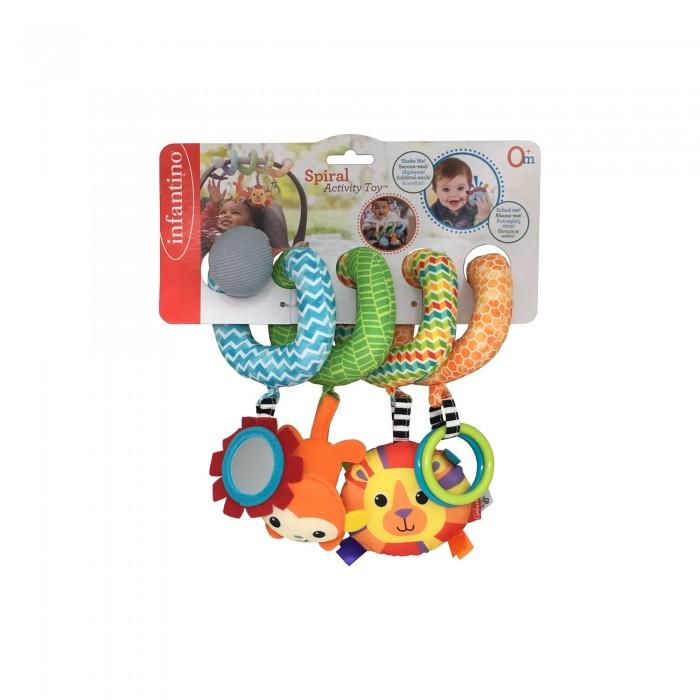 Подвесные игрушки Infantino Развивающая игрушка Спиралька резинка спиралька для волос