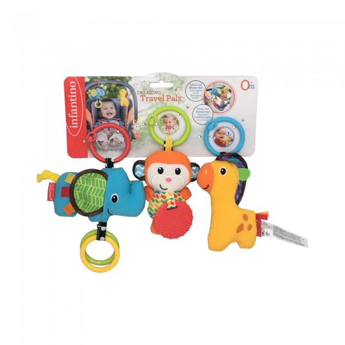 Подвесные игрушки Infantino Набор игрушек Друзья, Подвесные игрушки - артикул:424639