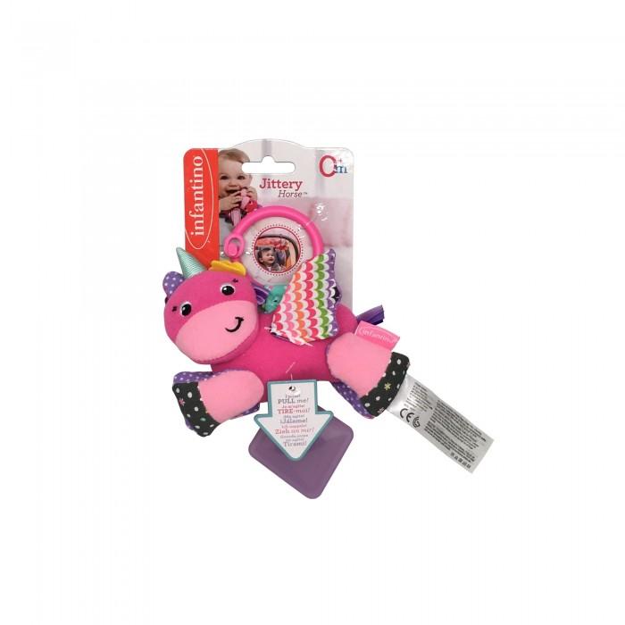 Подвесные игрушки Infantino Подвеска Единорог подвесные игрушки мир детства мини подвеска слоненок