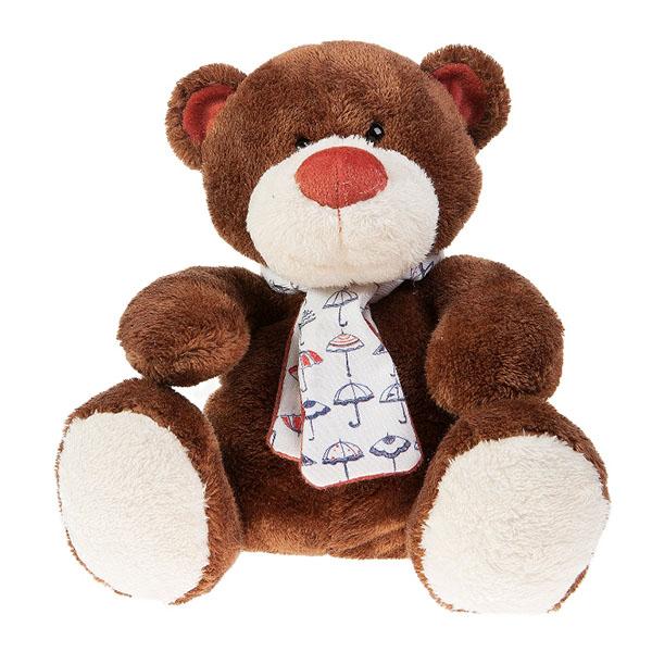 Мягкие игрушки Button Blue Медвежонок Тимоша коричневый 28 см button blue мягкая игрушка щенок санти лежачий 28 см