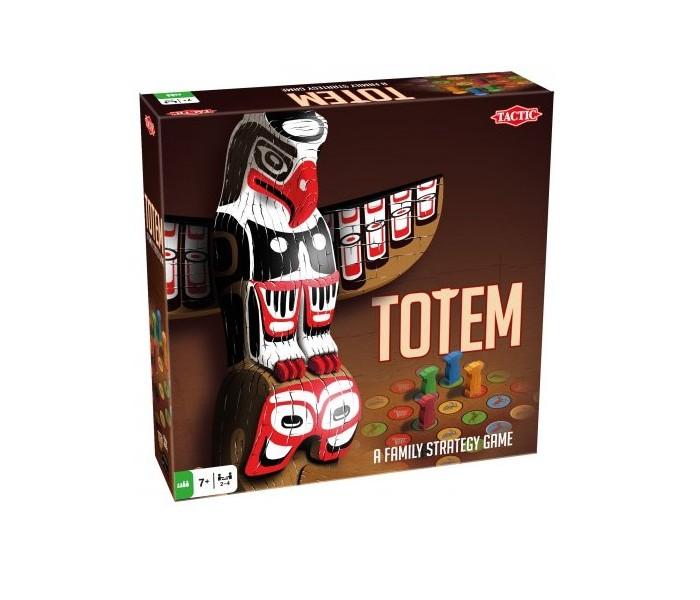 Настольные игры Tactic Games Настольная игра Тотем настольная игра tactic games логическая скажи иначе компактная версия 2 53369
