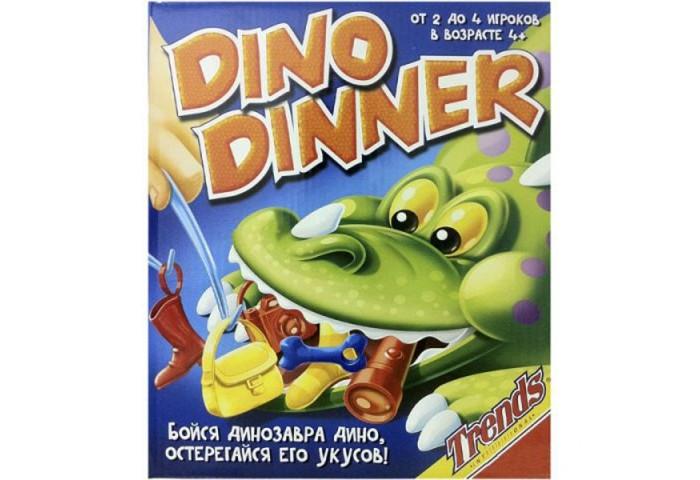 Настольные игры Trends Настольная игра Динозавр настольные игры yako игра настольная минибейсбол