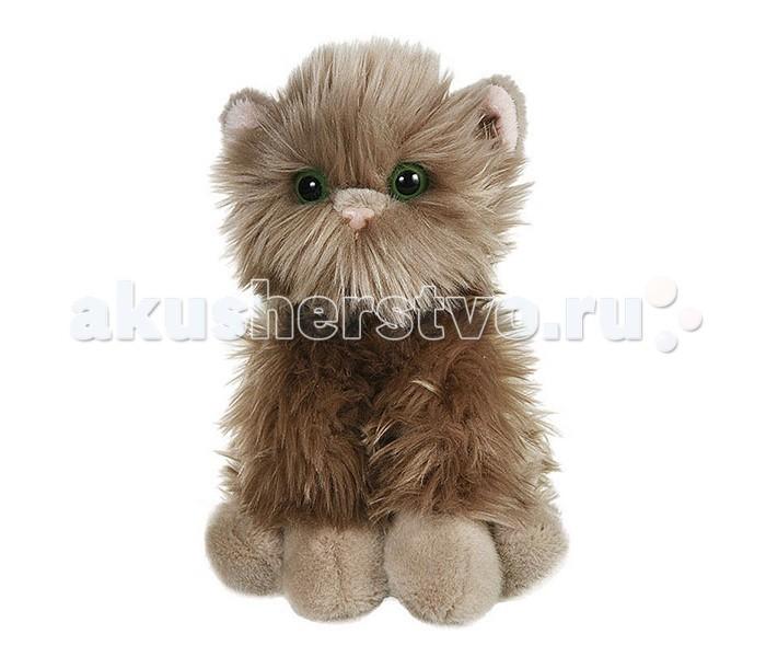 где купить Мягкие игрушки Gulliver Серый котик пушистик 23 см по лучшей цене