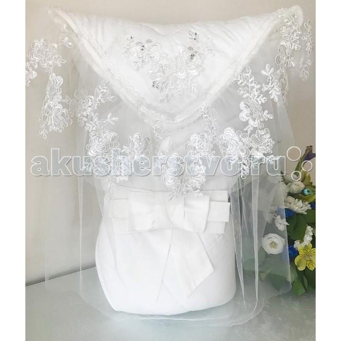 Детская одежда , Конверты на выписку Fleole Конверт-одеяло Молочный (зима) арт: 424944 -  Конверты на выписку