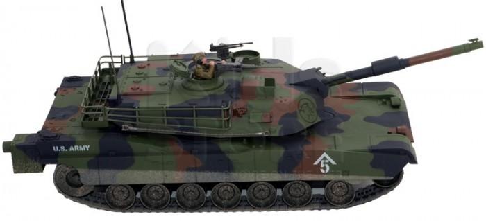 Машины Hobby Engine Радиоуправляемый танк Абрамс M1A1 (не стреляющий) 1:16 engine heater