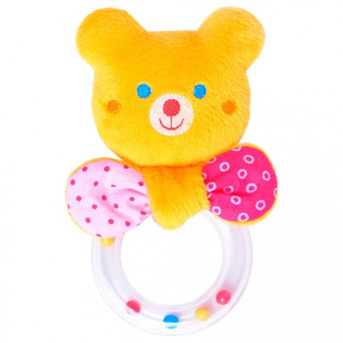 Погремушки Мякиши Мистер Тед с колечком игрушка погремушка мякиши медвежонок колечко
