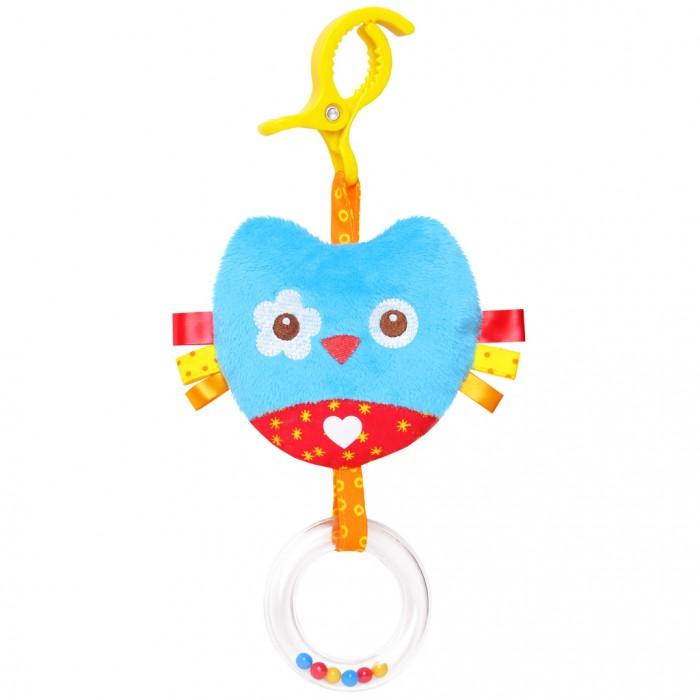 Подвесные игрушки Мякиши Сова игрушка погремушка мякиши медвежонок колечко
