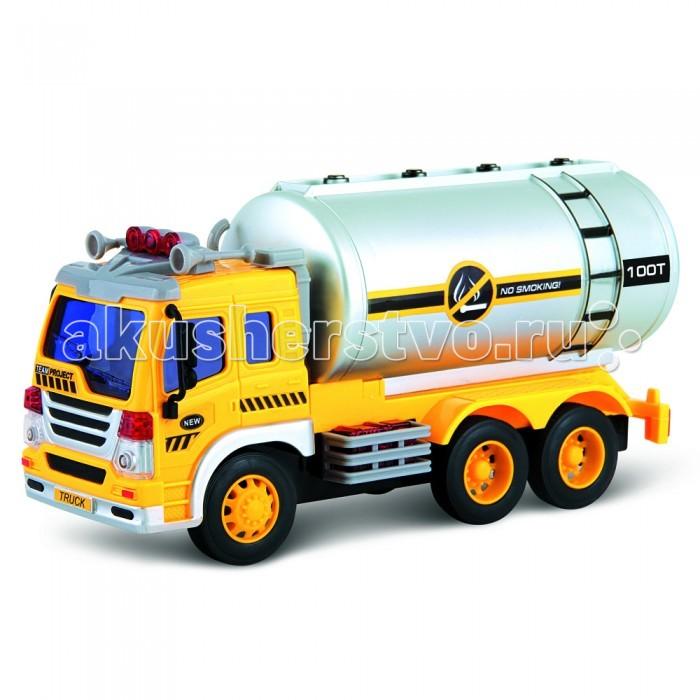 Машины Drift Машина грузовик-бензовоз телефон 870260 со светом и звуком на батарейках в коробке monster high