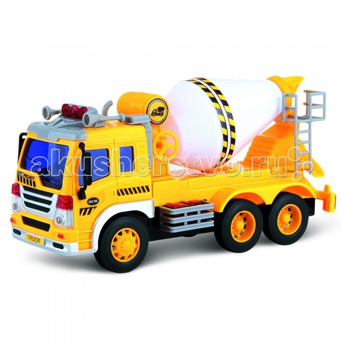Машины Drift Машина грузовик-бетономешалка телефон 870260 со светом и звуком на батарейках в коробке monster high