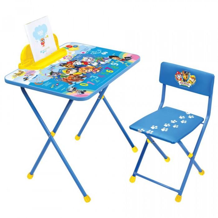 Детские столы и стулья Ника Набор мебели Щенячий патруль от 1.5 до 3 лет