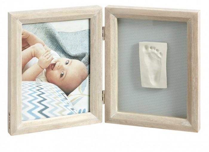 Декорирование Baby Art Рамка двойная Классика беленое дерево