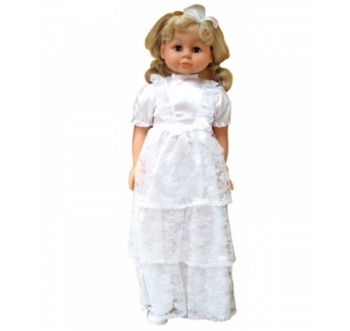 Lotus Onda Кукла ходячая в свадебном платье 90 смКукла ходячая в свадебном платье 90 смLotus Onda Кукла ходячая в свадебном платье 90 см в красивом свадебном платье– это самое верное решение, поскольку именно данная кукла произведет на любую девочку неописуемое впечатление  Длинные густые волосы можно расчесывать, делая разнообразные свадебные прически своей красавице Возьмите куклу за руку и она пойдет с вами рядышком, переставляя ножки. Каждая девочка, особенно в раннем возрасте, мечтает о том, чтобы у нее была ходячая кукла Игра дочки матери, как известно, самая излюбленная среди девочек, а данная кукла станет реалистичной «дочкой», согласитесь Важно: куклу нельзя сажать Высота куклы 90 см   Для детей от 3-х лет<br>