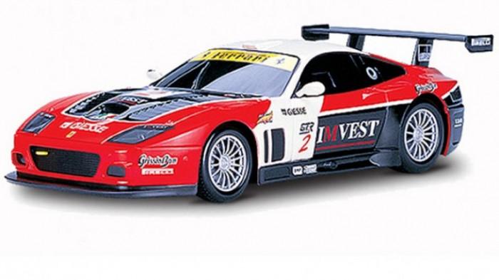 Машины Mjx Радиоуправляемый автомобиль 1:20 Ferrari 575 GTC радиоуправляемый квадрокоптер mjx x300c hd 2 4g
