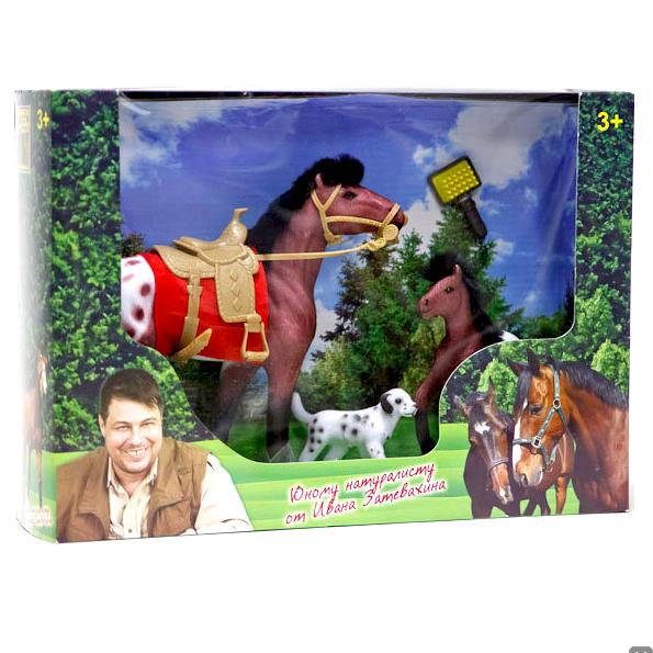 Играем вместе Набор из двух лошадок, с аксессуарами