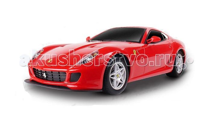 Машины Mjx Радиоуправляемый автомобиль 1:10 Ferrari 599 GTB Fiorano радиоуправляемый квадрокоптер mjx x906t 5 8g fpv x906t mjx