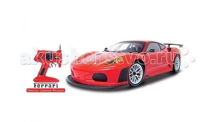 Mjx Радиоуправляемый автомобиль 1:10 Ferrari F430 GTРадиоуправляемый автомобиль 1:10 Ferrari F430 GTMjx Радиоуправляемый автомобиль 1:10 Ferrari F430 GT полноуправляемая модель, полностью повторяющая внешний вид автомобиля Ferrari F430 GT.   Особенности: Простой в управлении дискретный пульт управления пистолетного типа При движении вперёд - загораются фары При движении назад - загораются стоп сигналы Пульт управления, аккумулятор и зарядное устройство в комплекте Направление движения: вперёд, назад, влево и вправо. В комплекте: Полностью собранная модель Ferrari F430 GT Пульт управления Аккумулятор для модели 7.2v 700mAh. Зарядное устройство для аккумулятора модели, заряжает аккумулятор за 3-4 часа Батарейка типа Крона (9 вольт) для пульта управления.<br>