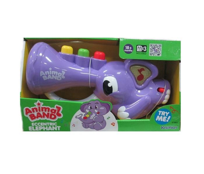Электронные игрушки Keenway Слоник-трубач