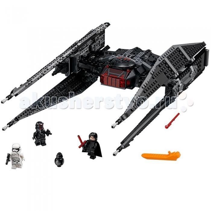 Lego Lego Star Wars 75179 Лего Звездные Войны Истребитель СИД Кайло Рена citall 6 columns billet deep cut frame grill for harley electra glide road king road street glide flht flhr fltr flhx 2009 2013