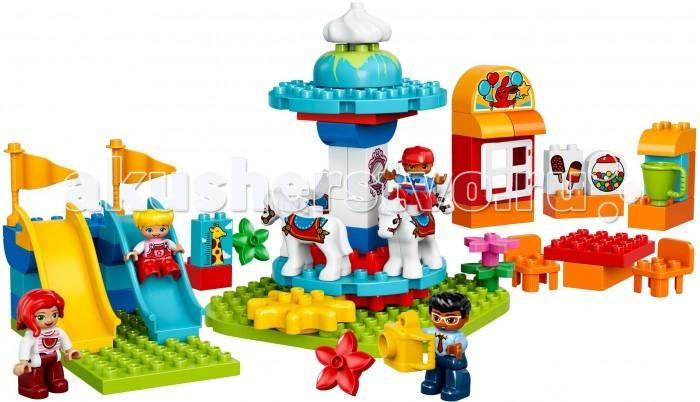 Lego Lego Duplo 10841 Лего Дупло Семейный парк аттракционов lego duplo 10826 лего дупло стеллосфера майлза